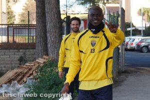 Sport - Calcio - Viterbese - Mamadou Tounkara e Simone Palermo
