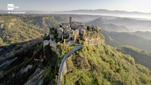 Bagnoregio - Civita su Rai 1