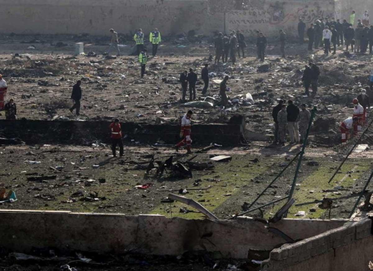 Iran, aereo ucraino precipita dopo decollo: nessun superstite