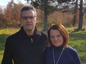Leopoldo Liberati e Stefania Nicolosi (FdI Tuscania)