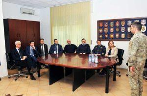 La commissione Difesa della Camera in visita al 17esimo Stormo incursori