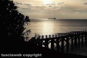 Civitavecchia - Il mare d'inverno