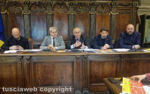 Viterbo - La conferenza stampa sulla raccolta differenziata