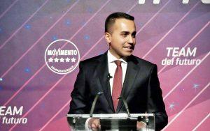 Roma - Luigi Di Maio annuncia le dimissioni da capo politico del M5s