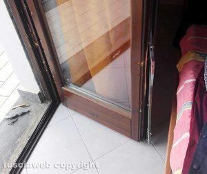 Vetralla - Furto in abitazione - La finestra forzata