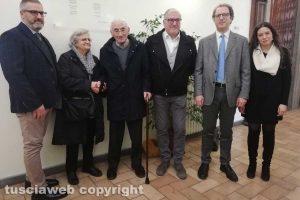 Viterbo - La cerimonia all'università della Tuscia