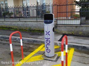 Viterbo - Una colonnina per ricaricare le auto elettriche