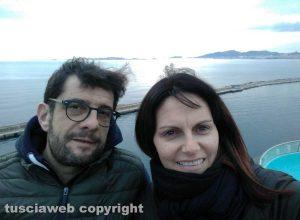 Claudio Cocomazzi e Tamara Luccioli