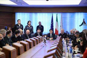 Roma - Il comitato operativo della protezione civile