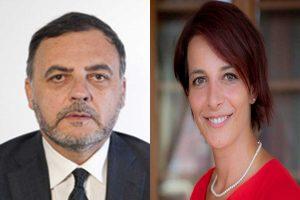 I deputati Massimiliano De Toma e Rachele Silvestri