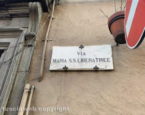 Viterbo - Via Maria S.S. Liberatrice
