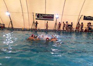 Sport - Pallanuoto - La squadra del Nuoto club Viterbo
