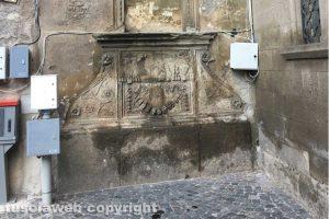 Viterbo - La fontana del Cardinal Piccolomini