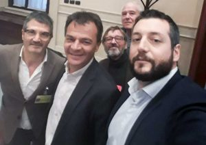 Una delegazione del circolo civitonico di Rifondazione Comunista incontra Stefano Fassina