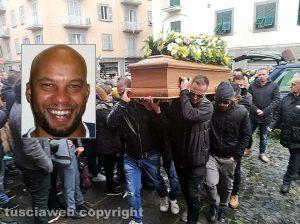 Viterbo - I funerali di Patrice Tiekone