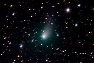 La cometa Pannstarrs