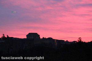 Il tramonto sul Forte San Gallo...