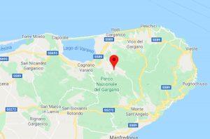 Scossa di terremoto nel Foggiano