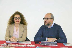 La deputata Bellucci con Mauro Rotelli