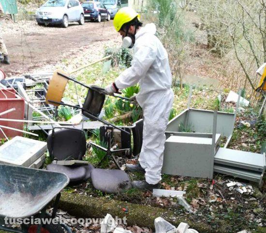 Chemical City - È iniziata la sistemazione dell'area