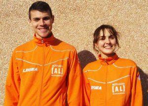 Sport - Atletica Alto Lazio - Leonardo Bargagli e Martina Gasbarri