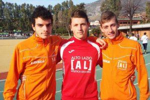 Sport - Atletica leggera - Alto Lazio - Canta, Andrusca e Gentile