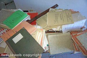 Ronciglione - I documenti abbandonati della Chemical city