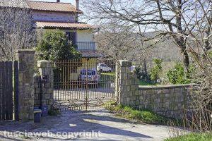 Montefiascone - La casa di Aurora Grazini