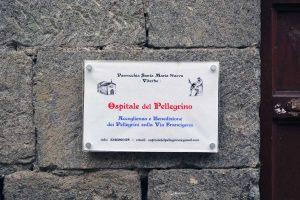 Viterbo - Ospitale del pellegrino
