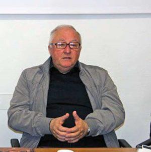 Viterbo - Don Mario, parroco della parrocchia di santa Maria Nuova