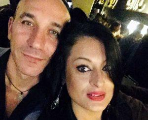 Giuliano Tosoni e sua moglie Simona