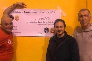 Sport - Pallavolo - Volley Castiglione - La somma donata all'ospedale di Orvieto