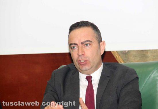 Il presidente della provincia Pietro Nocchi