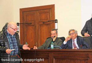 Francesco Lombardi con Alessandro Fraschetti e Andrea Bossola