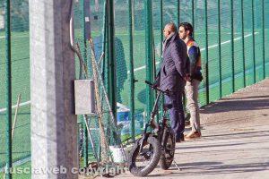 Sport - Calcio - Viterbese - L'allenamento di oggi - Foresti e Palermo