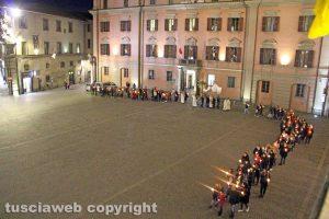 Viterbo - La processione della Madonna di Lourdes