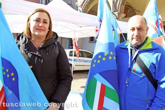 Viterbo - Simona Tuzi e Soccorso Napoli