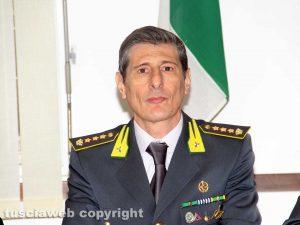 Il comandante provinciale della guardia di finanza Andrea Pecorari
