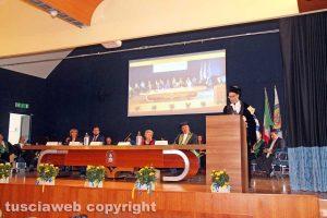 Viterbo - L'inaugurazione dell'anno accademico all'università della Tuscia