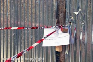 Viterbo - Colle Verde - Liquami in strada Acquabianca sotto sequestro