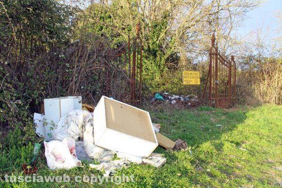 Ronciglione - La discarica davanti alla Chemical city