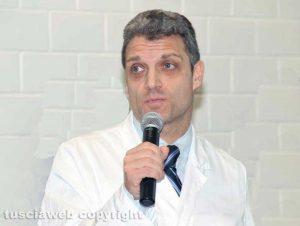 Viterbo - Daniele Angelini, primario pronto soccorso di Belcolle