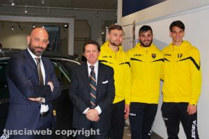 Sport - Calcio - Viterbese - Autocentri Balduina è il nuovo sponsor