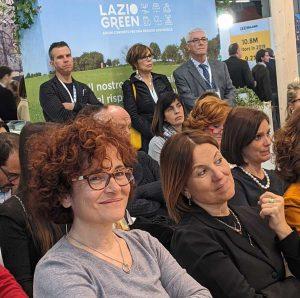"""Milano - Luigia Melaragni alla Bit per la presentazione del progetto """"Tuscia sport & leisure"""""""