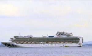 Diamond Princess, la nave in quarantena ancorata a Yokohama
