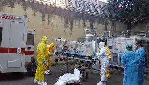 Coronavirus - L'arrivo di Niccolò allo Spallanzani