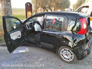 Montefiascone - Incidente sulla Verentana