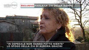 La zia di Aurora Grazini a Mattino 5