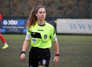 L'arbitro Silvia Stavagna