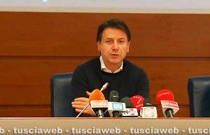 Coronavirus - La conferenza stampa del premier Giuseppe Conte